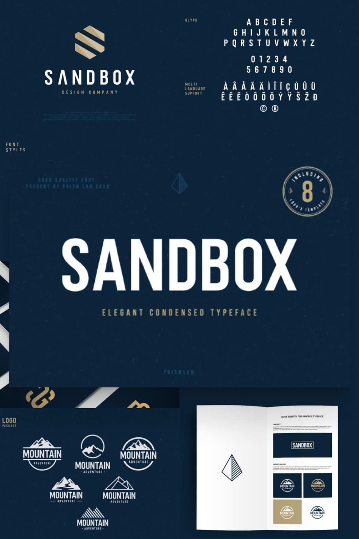 Sandbox is a minimal and neat sans serif font.