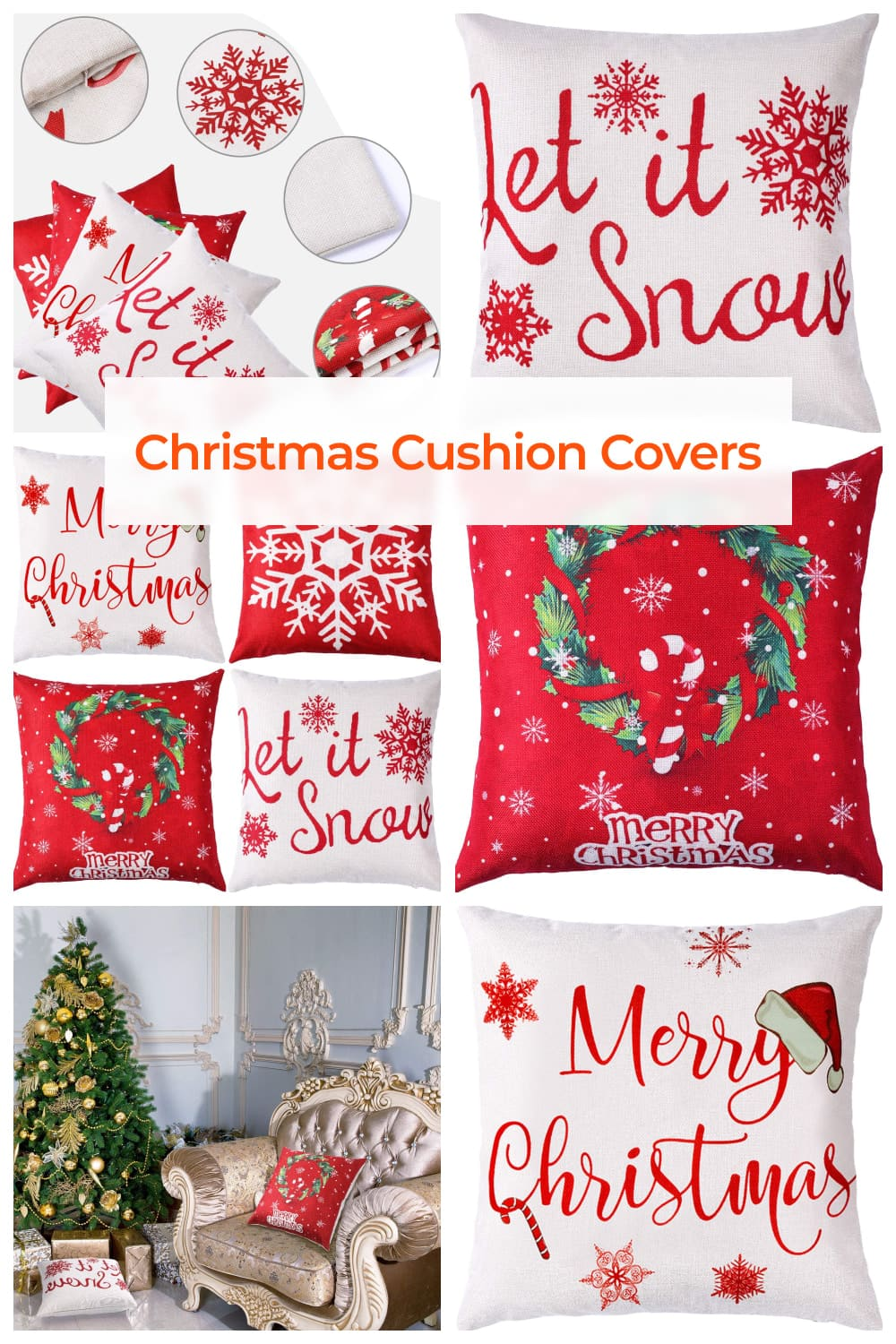 Printed with various patterns for your choices, which are delicate and distinct, match up your indoor decoration well, also add more festival atmosphere at Thanksgiving, Halloween, Christmas, autumn, etc.