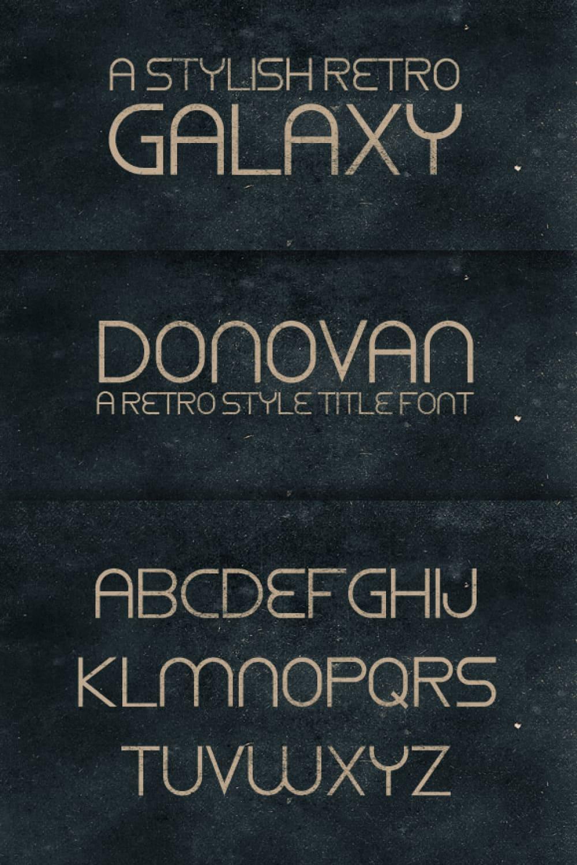 A versatile and beautiful gold font.