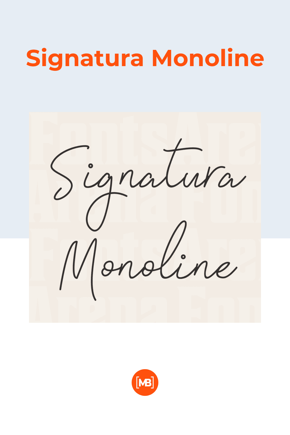 This is a modern calligraphy script typeface, ideal for signatures and monograms, as well as branding, stationery, headlines or banners.