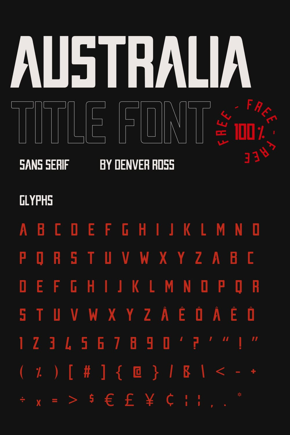 Soft font with sharp details. This is a game of contrasts.