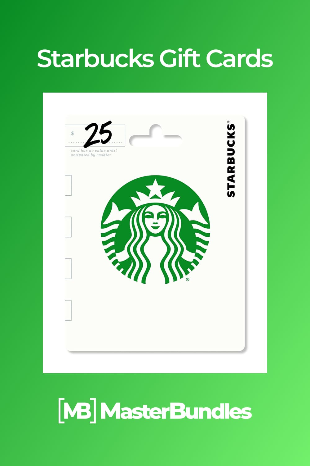 A Starbucks card is always welcome.