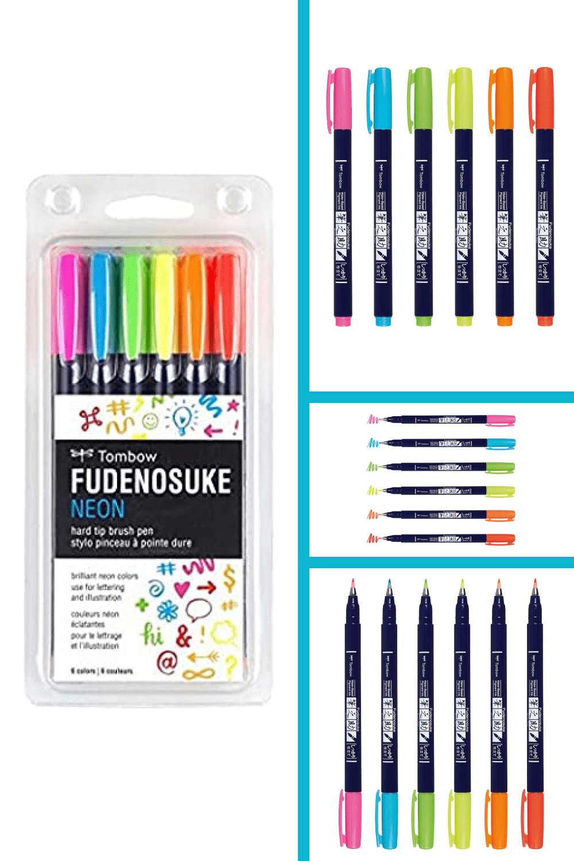 Great for beginner brush calligraphy, hand lettering, and illustration.