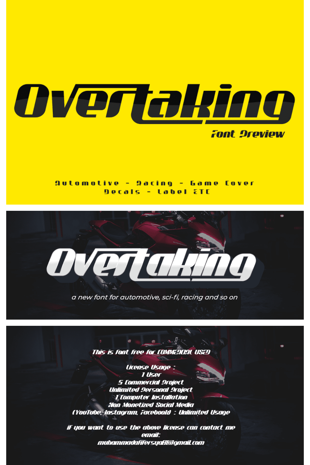 The font is somewhat similar to the Fast and the Furious style.