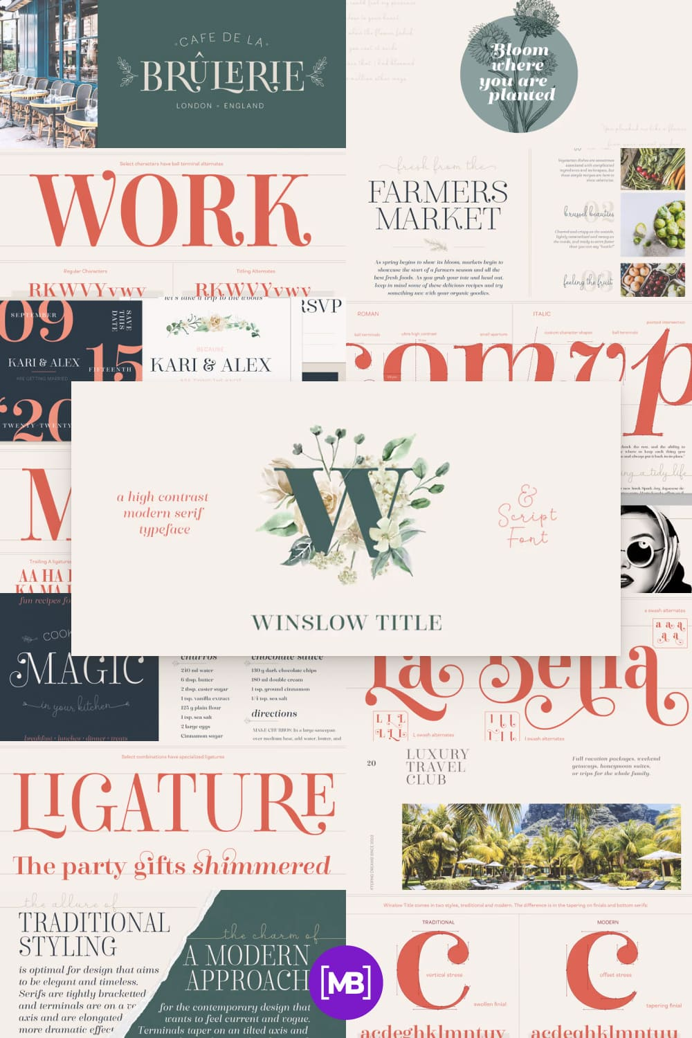 This is a lovely font. It is as if nymphs created it in a magical forest.