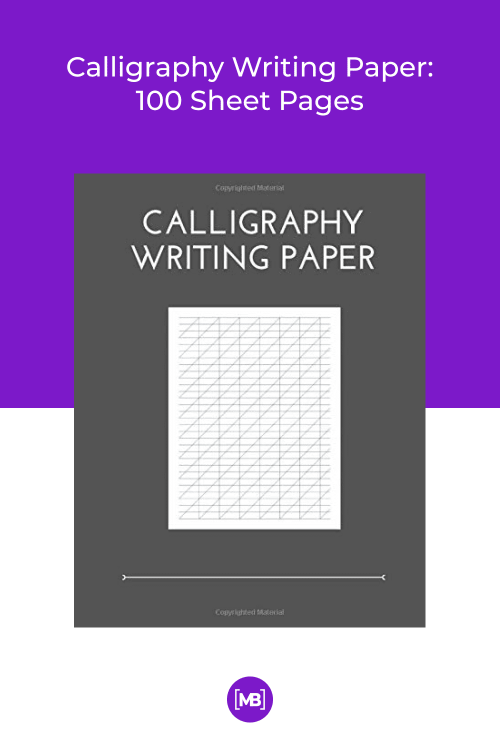 Now calligraphers can build their skill by practicing lettering on this artist-grade pad of calligraphy paper.