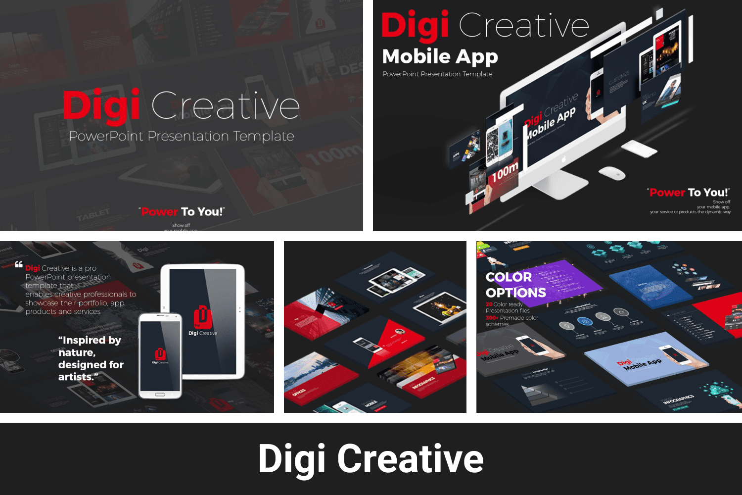 Dark template with bright infographics. This play of contrasts will undoubtedly bring success to your presentation.