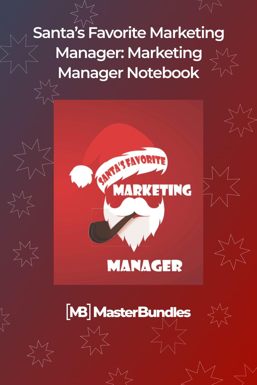 Santa's favorite marketing manager.