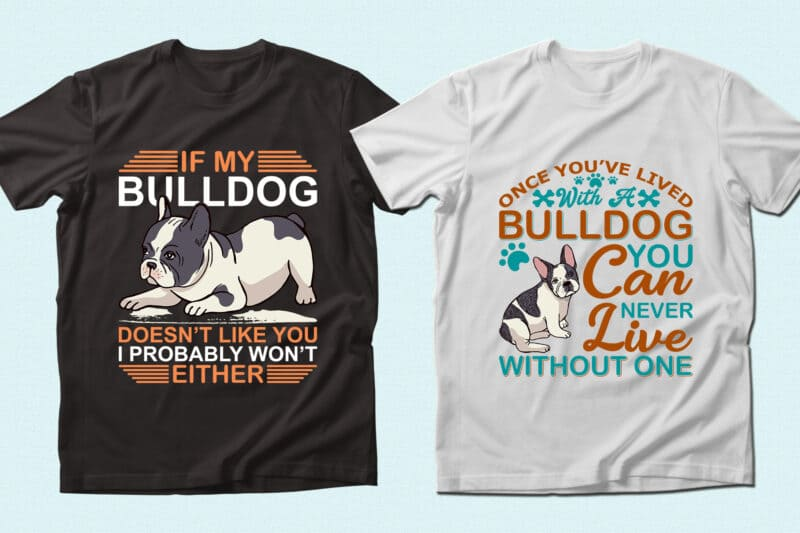 Bulldog and themed phrases.