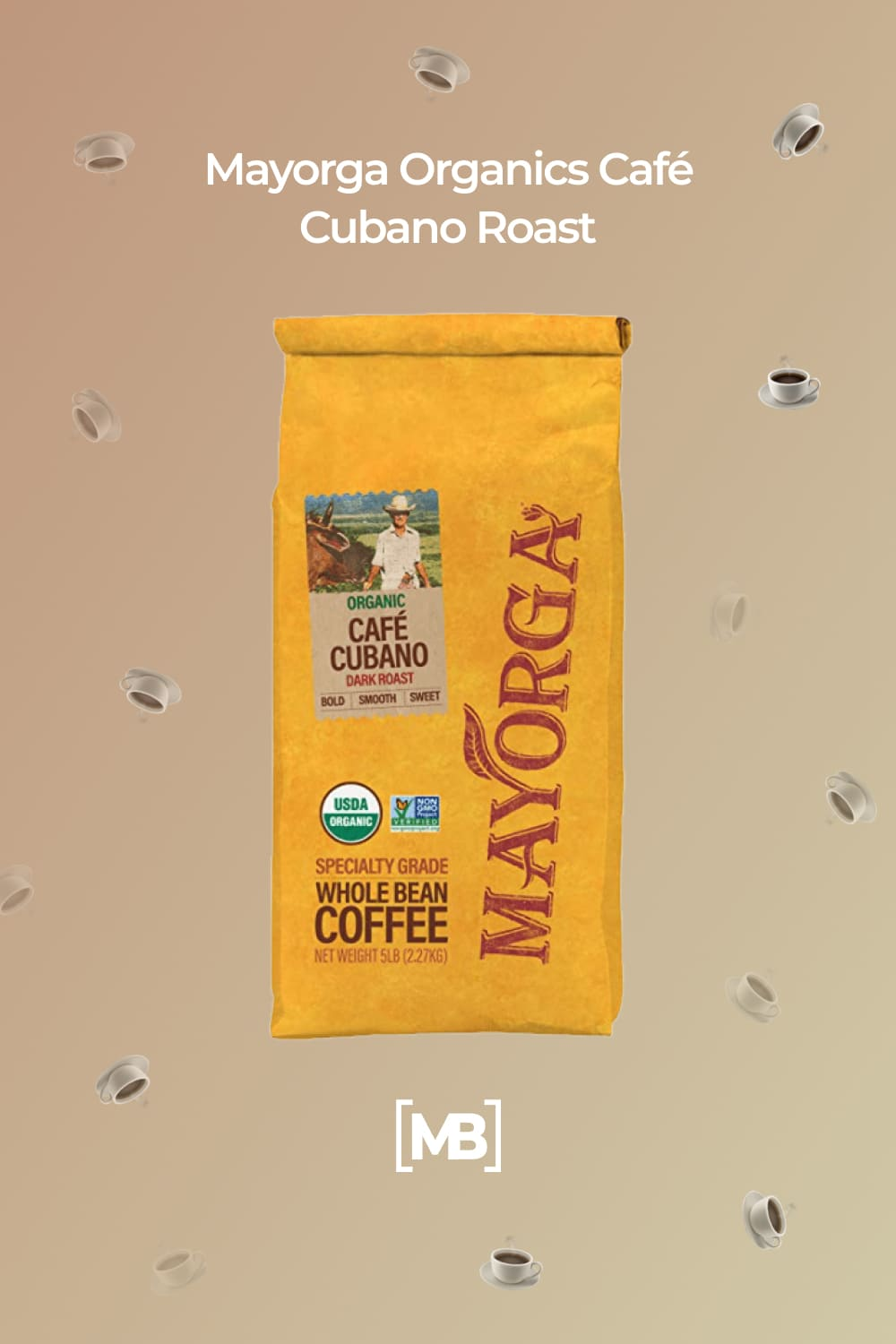 This is a cuban-style dark roast profile Mayorga has perfected, with hints of vanilla and sweet, syrupy smokiness, with a smooth, and bold finish with low acidity.