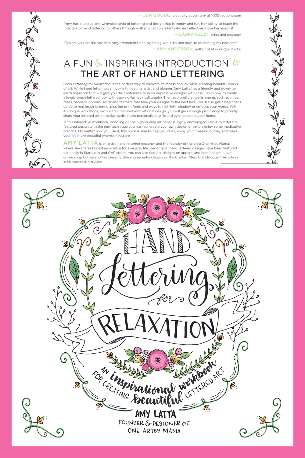 Hand Lettering for Relaxation is the perfect way to cultivate calmness and joy while creating beautiful works of art.