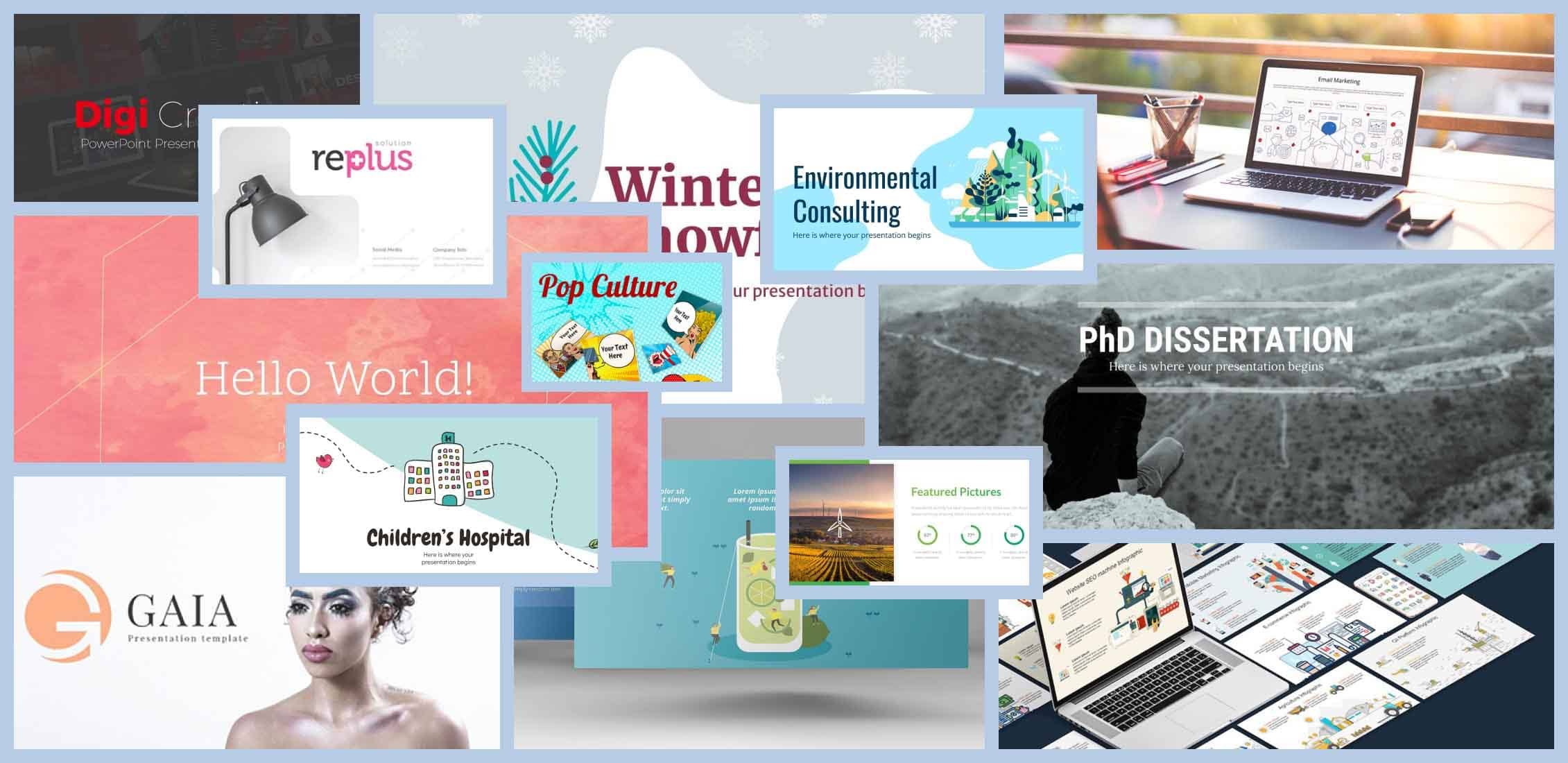 35 Best PowerPoint Presentation Templates 2021 Free and Paid Example.