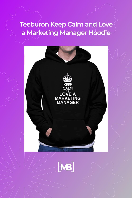 This is a premium quality black hoodie.