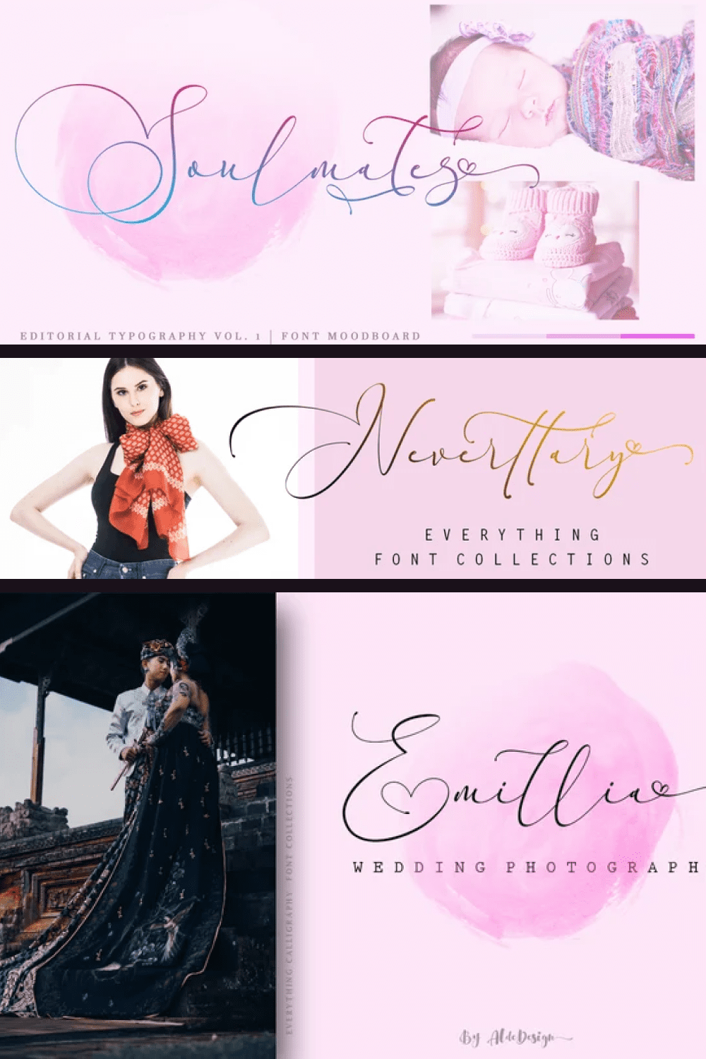 This is a stylish calligraphy font that features a varying baseline, smooth line, modern and with a deep love.
