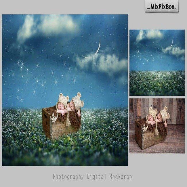 Magic Night Backdrop cover image.