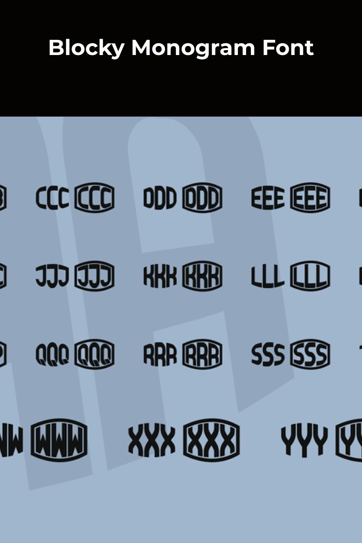 Expanding width font.