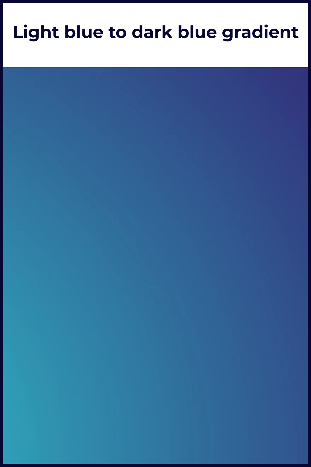 A blue gradient that seems to symbolize a calm sky and a stormy one.