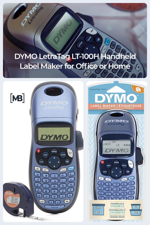 Handheld label maker for office or home.