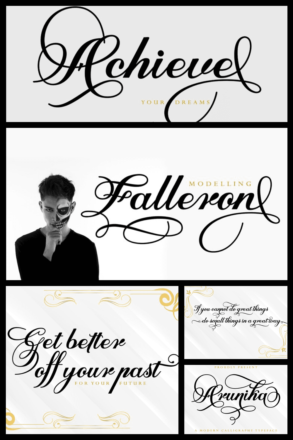 This is an elegant and flowing handwritten font.