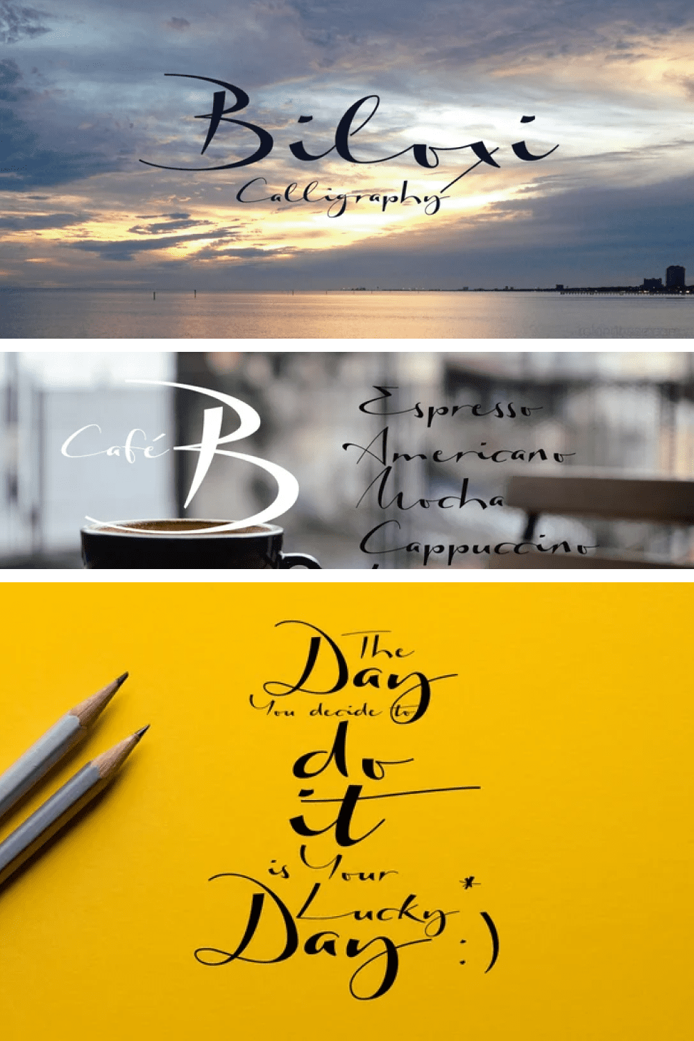 Turkish scent font. The smell of coffee, baklava and the sea.