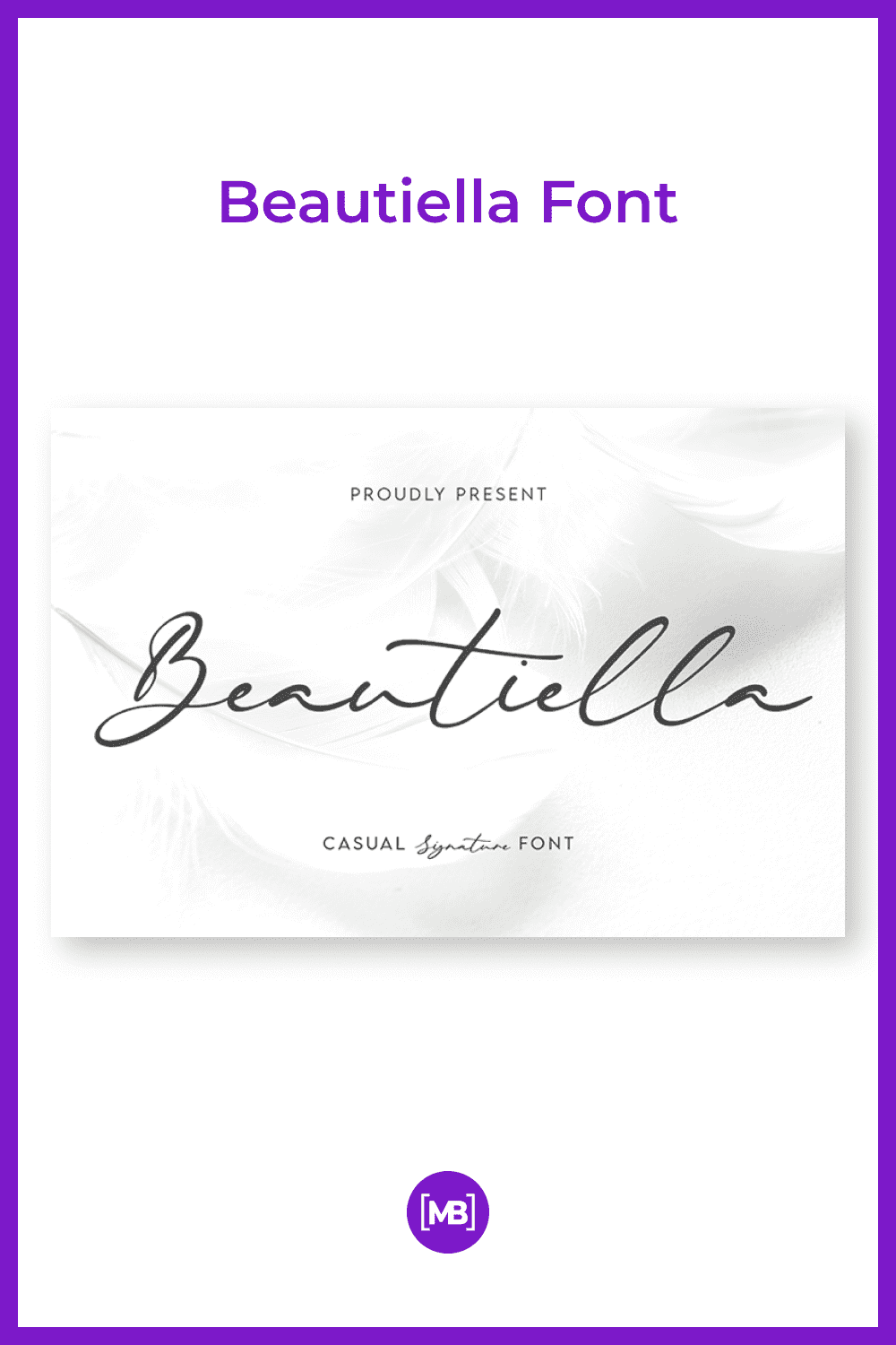 This font is like silk. It is gentle and flowing.