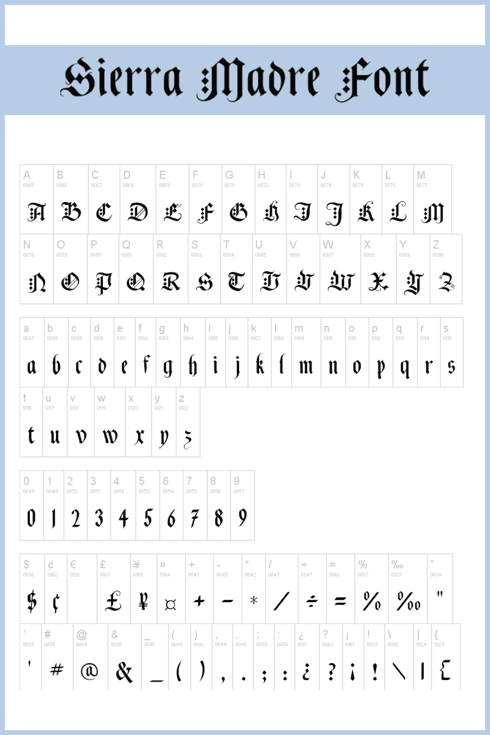 This font was once used by knights to send love letters to their wives.