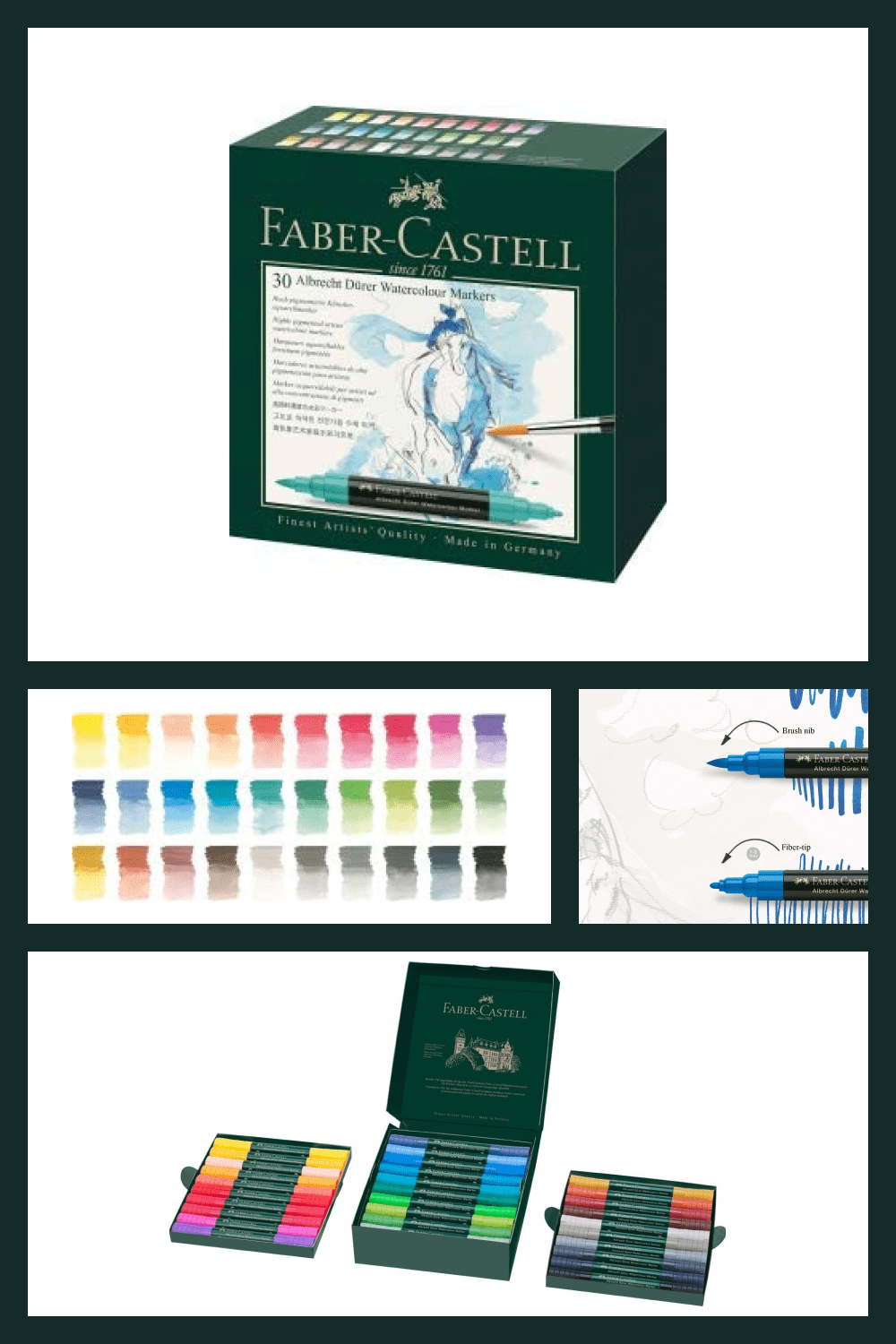 Watercolor Markers that are highly versatile and savvy to add a watercolor wash to a variety of art projects.