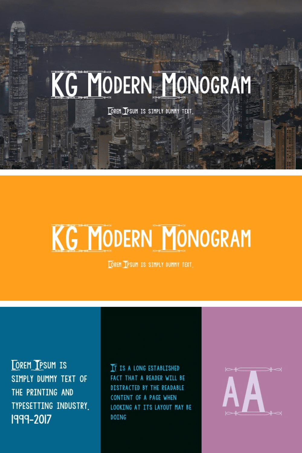 A non-trivial font in a modern style.