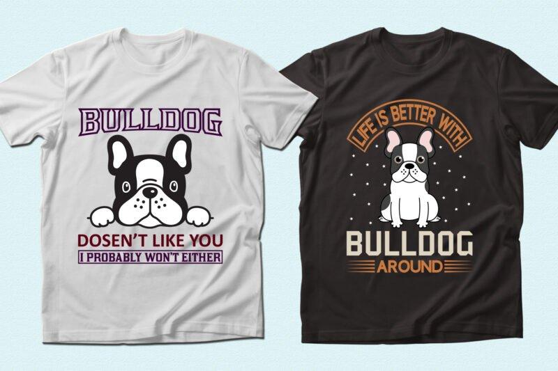 Very seriously grey bulldogs.