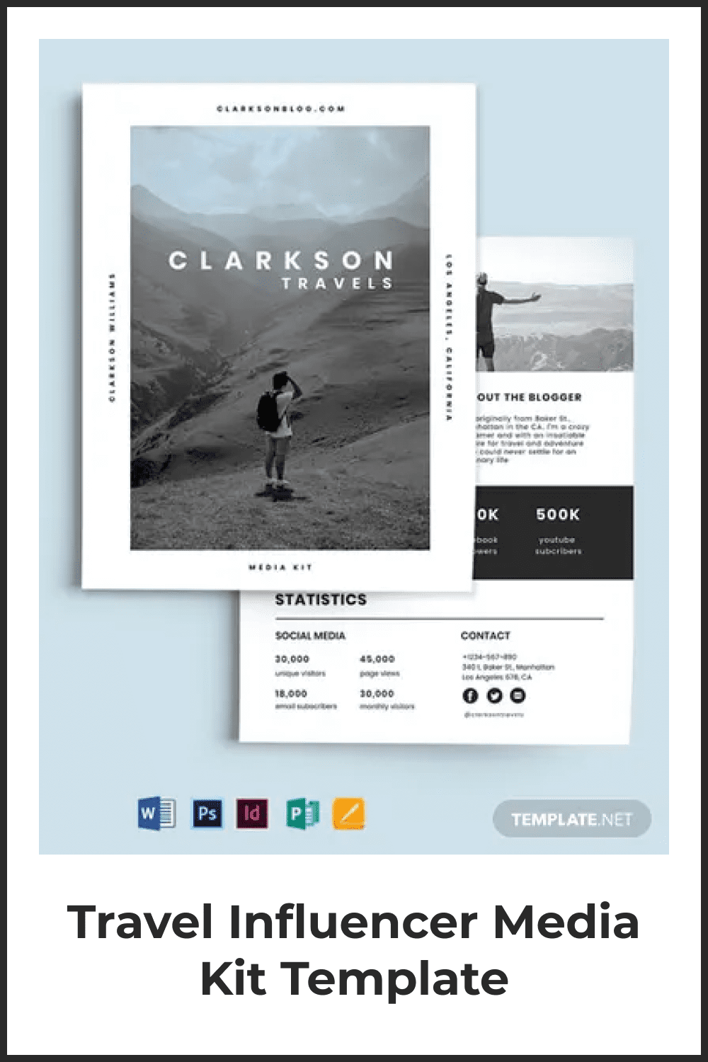 This template is a real godsend for a travel blogger.