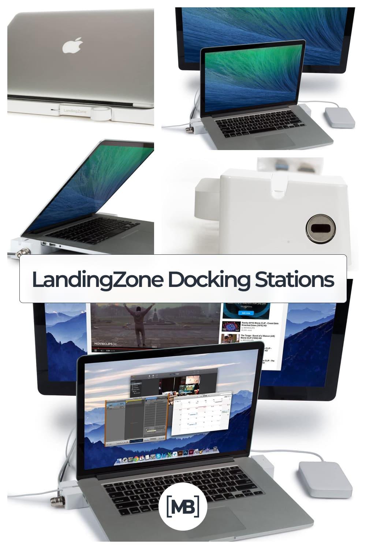 LandingZone dock express secure docking station for The MacBook Pro.