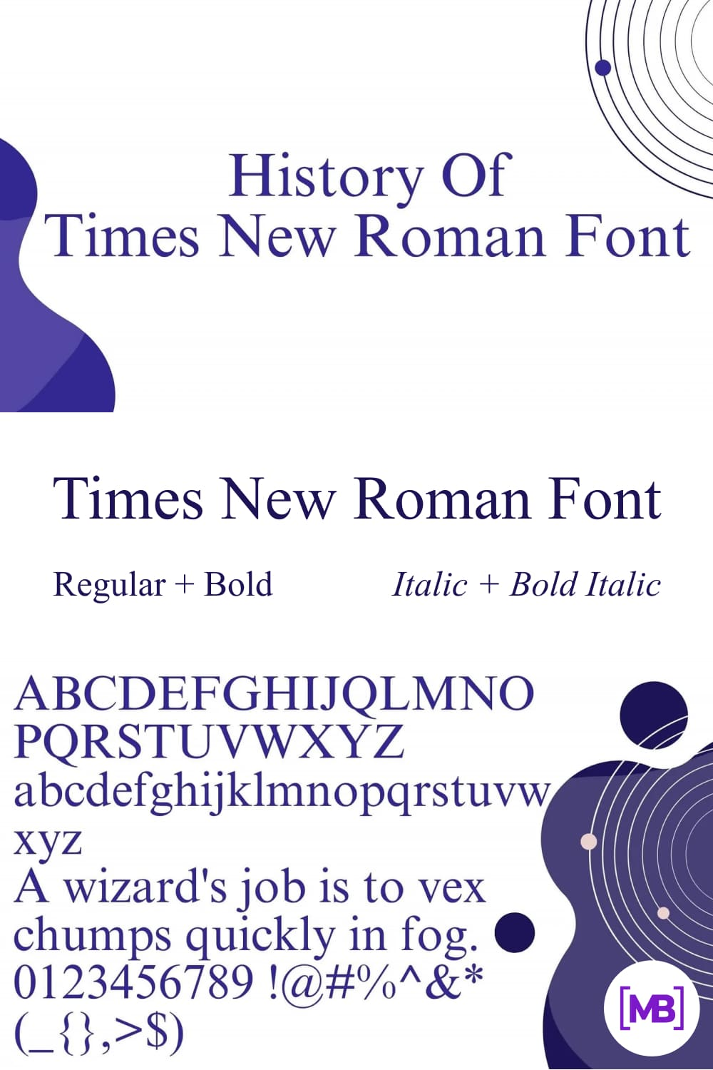 It is an old-style serif typeface that is facilitating designers for the last many decades.
