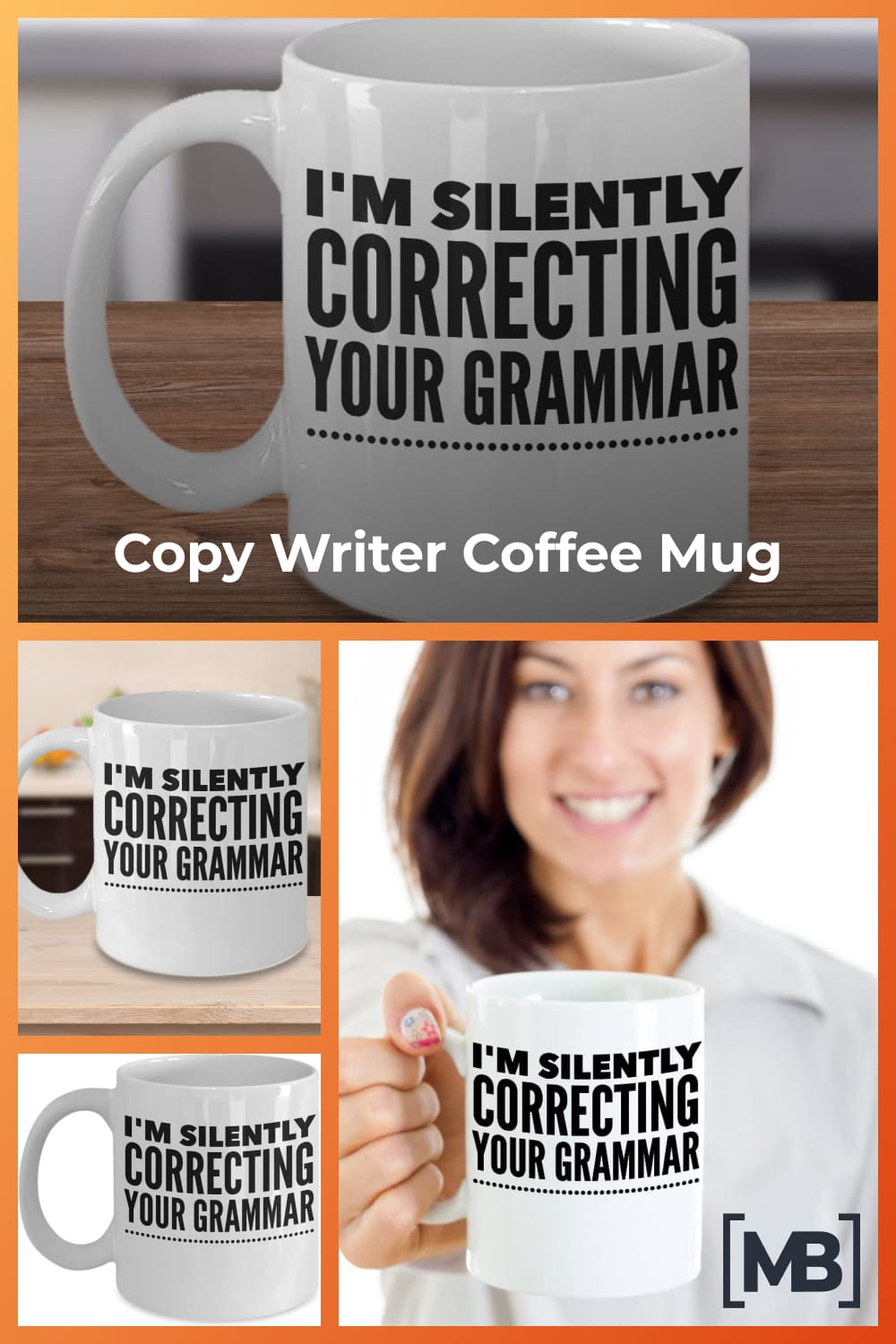 Funny editor gifts - 11oz white ceramic cup.