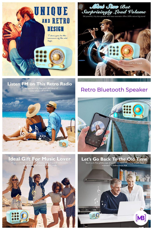 Retro Bluetooth Speaker.