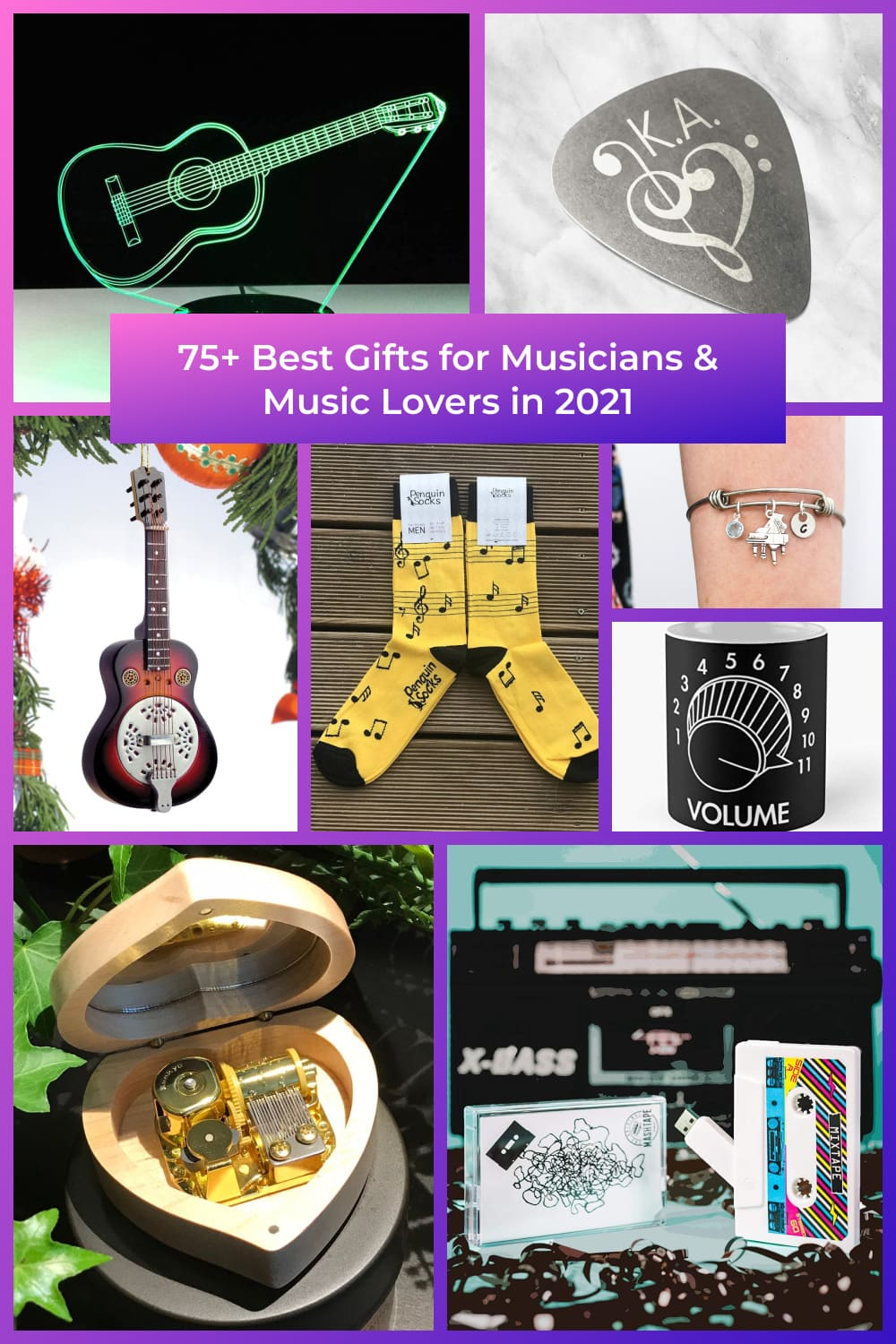 Best Gifts for Musicians & Music Lovers Pinterest.