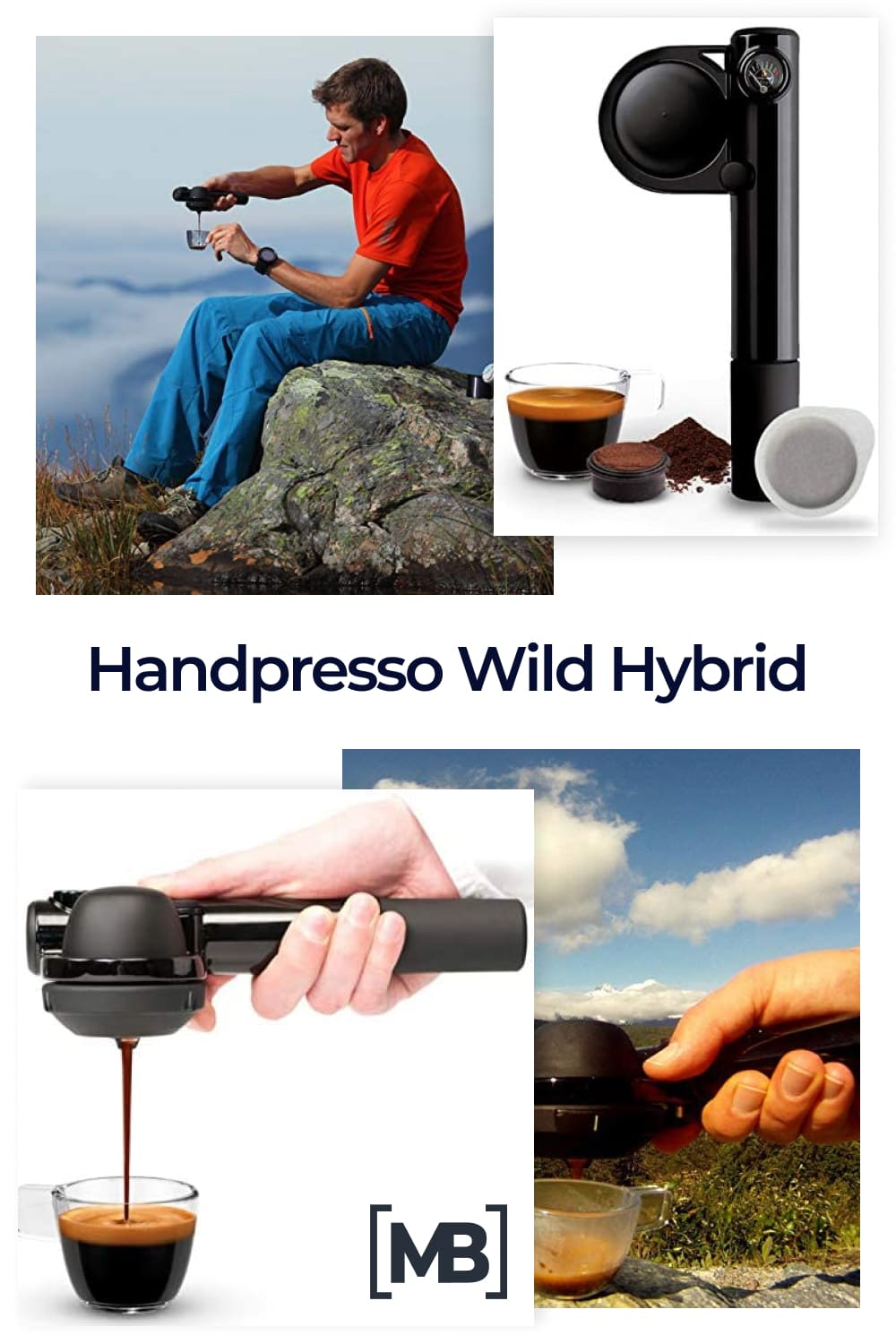 With the Handpresso Wild Hybrid, you may vary the coffee experience as inspiration and weather dictates.