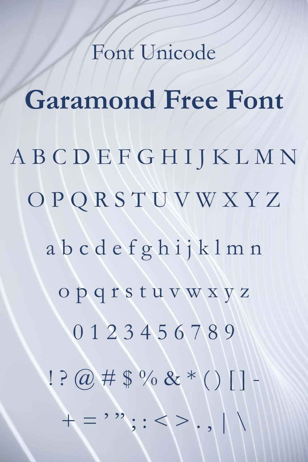 It is a beautiful font with tenderness and elegance.