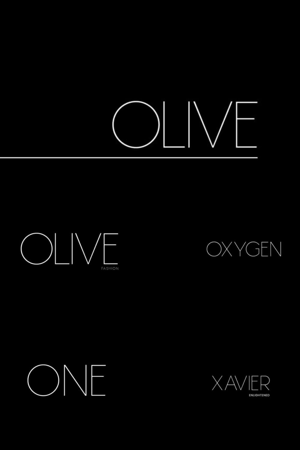 Olive is a minimal and thin sans serif font. It can easily be matched to an incredibly large set of projects.
