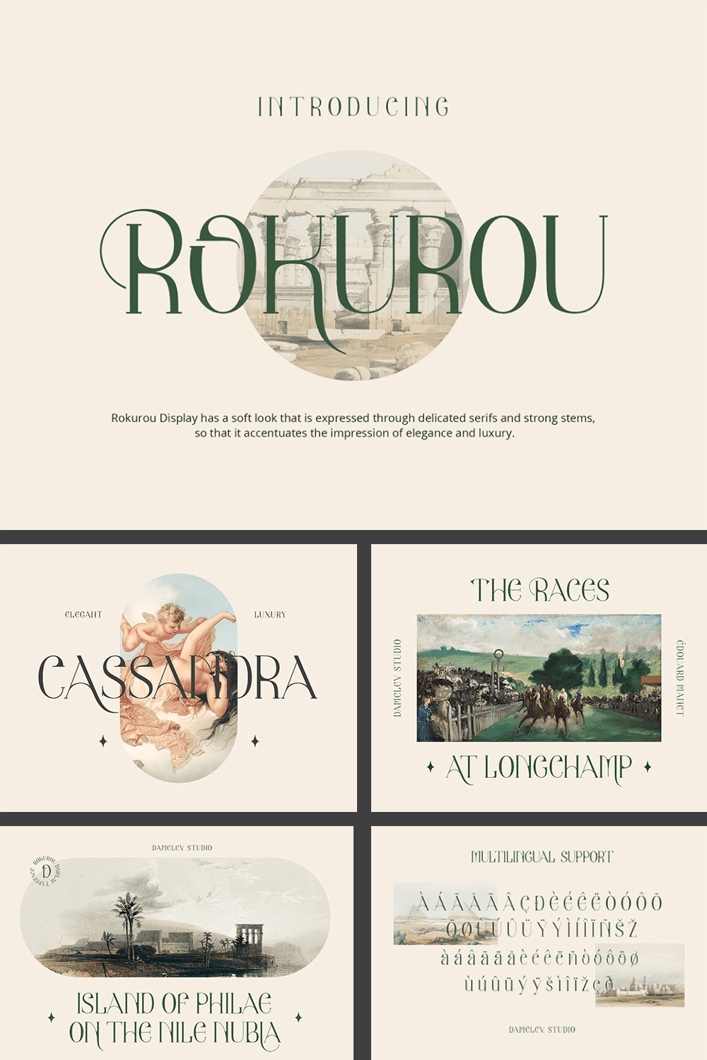 Incredibly beautiful font. If it was a painting, it would undoubtedly be painted by Michelangelo.