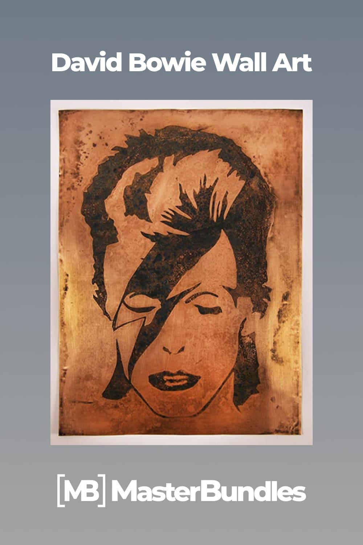 David Bowie Wall Art.