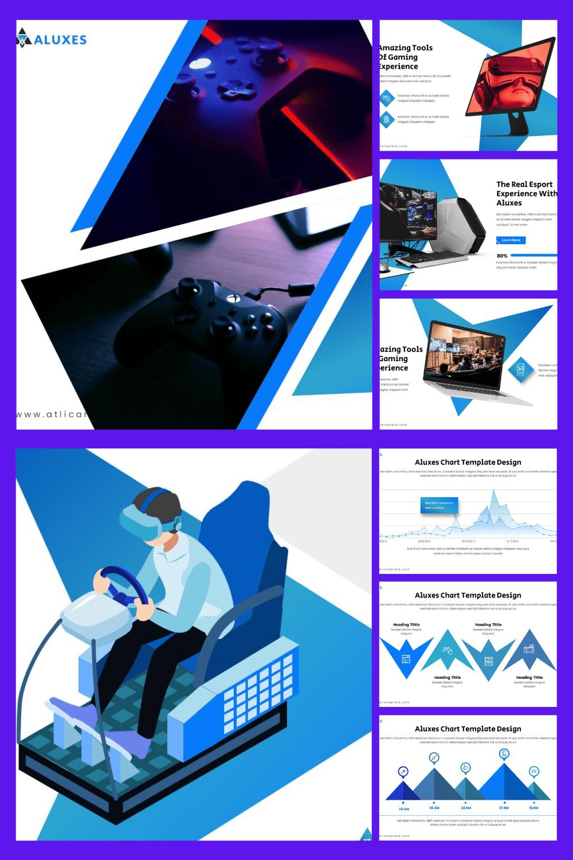 Atlician Presentation. Collage Image.