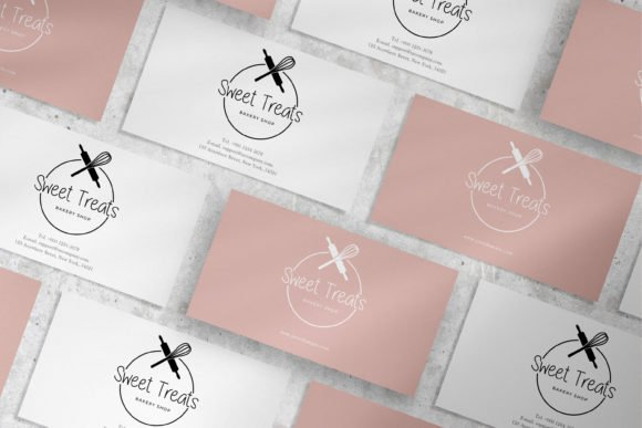 Business cards for real pastry chefs.