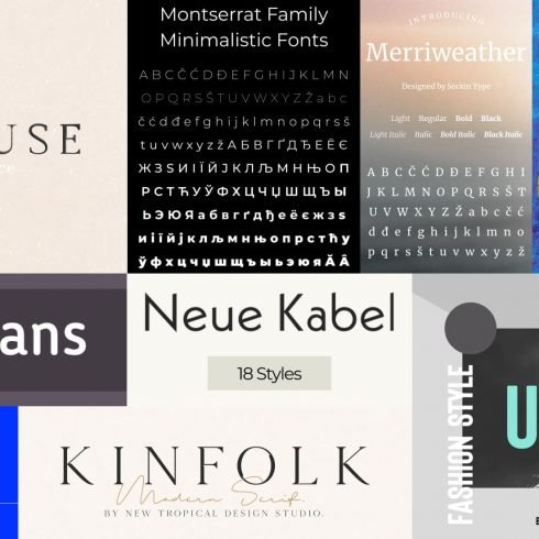 Best Fonts for Blogs Free and Premium Post Example.