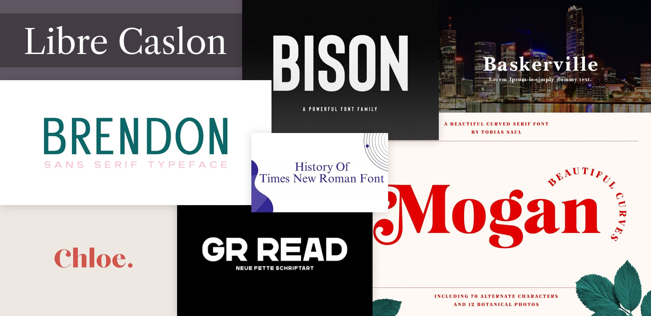 Best Fonts for Ebook Post Example.