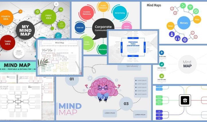Best Mind Map Templates Example.
