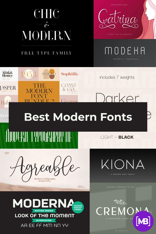 Fonts for business Pinterest.