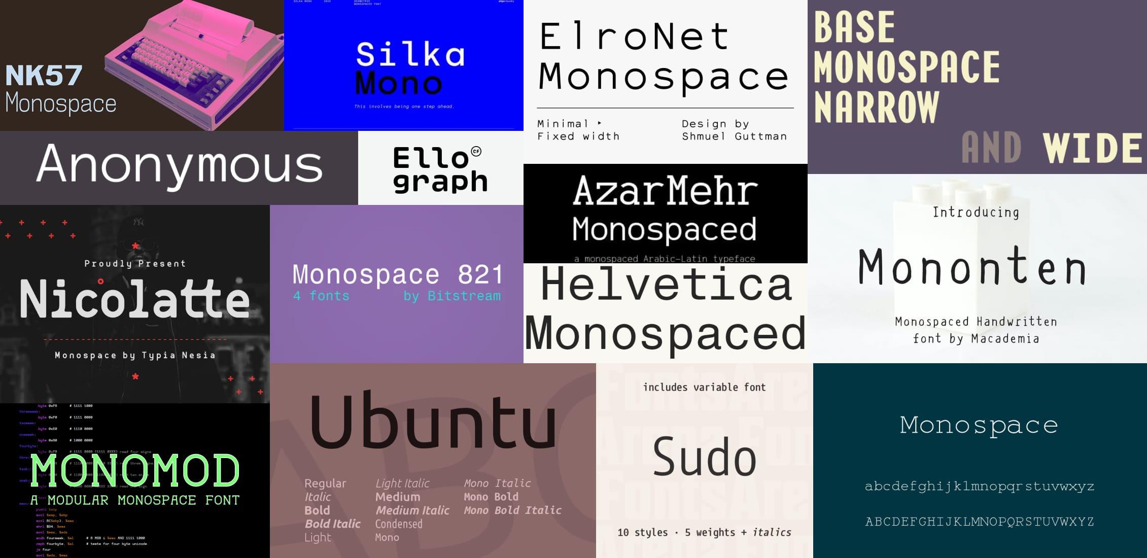 Best Monospace Fonts Post Example.