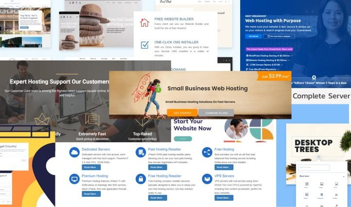 Best Web Hosting for small business Free and Premium Post Example.
