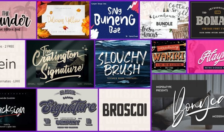 Best fonts for wood signs Post Example.