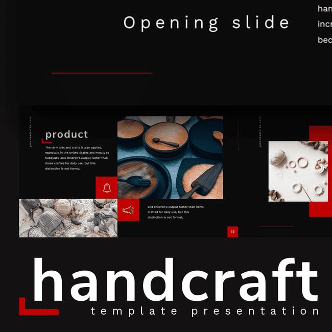 Handcraft presentation cover image.